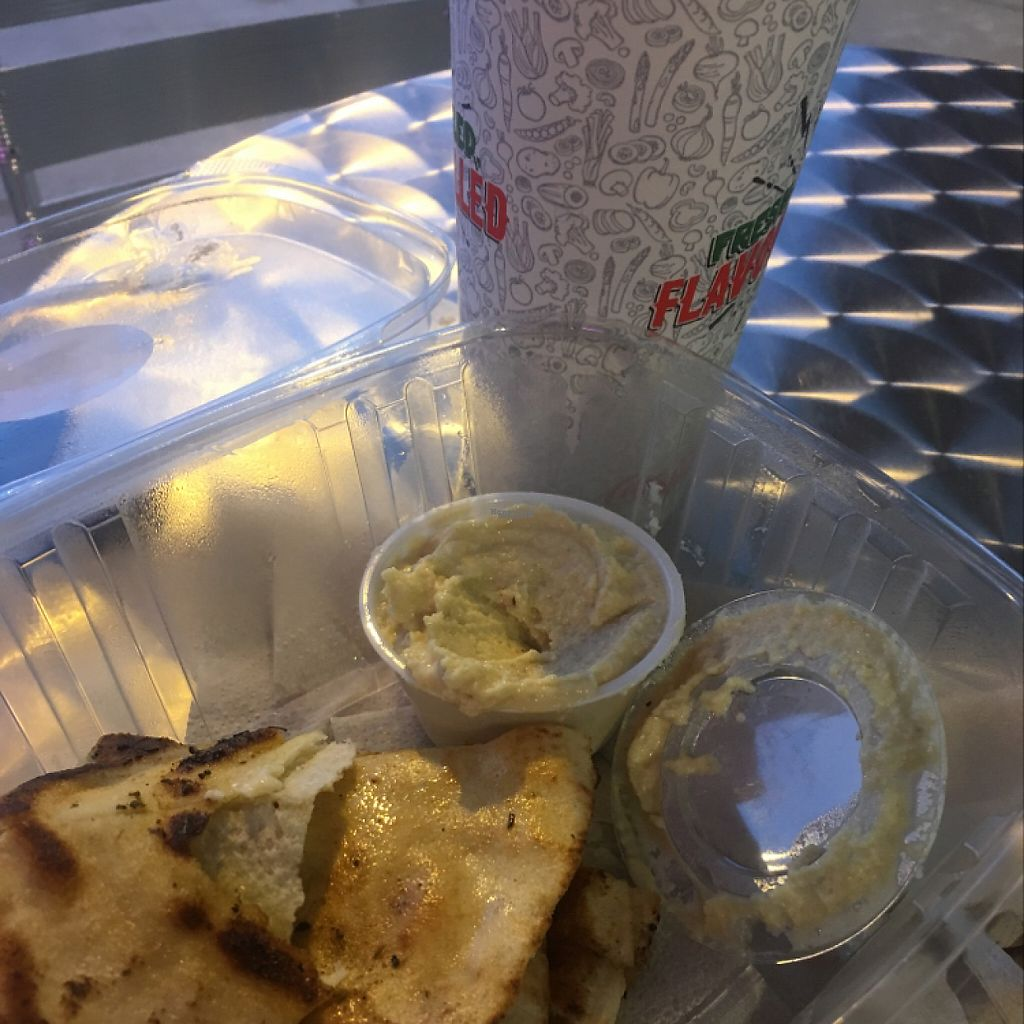 """Photo of Pita Pit   by <a href=""""/members/profile/Caitlin88"""">Caitlin88</a> <br/>amazing pita and hummus <br/> March 25, 2017  - <a href='/contact/abuse/image/76284/240908'>Report</a>"""