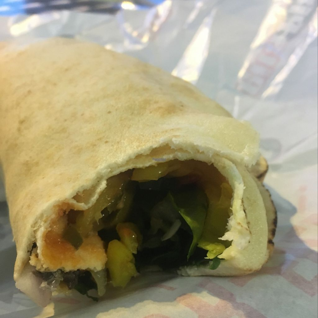 """Photo of Pita Pit   by <a href=""""/members/profile/Caitlin88"""">Caitlin88</a> <br/>amazing veggie garden wrap <br/> March 26, 2017  - <a href='/contact/abuse/image/76284/240909'>Report</a>"""