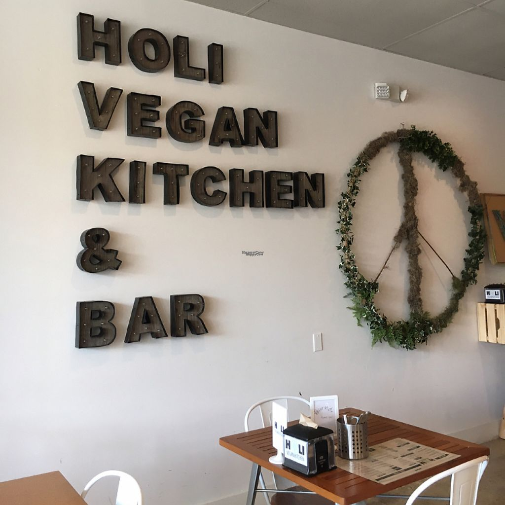 "Photo of Holi Vegan Kitchen & Bar  by <a href=""/members/profile/Zombiecynthia"">Zombiecynthia</a> <br/>vegan eats & peace  <br/> February 6, 2017  - <a href='/contact/abuse/image/76286/223737'>Report</a>"