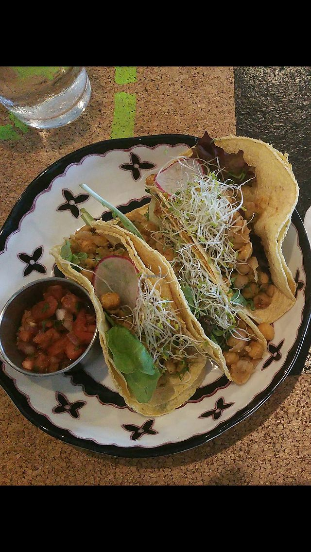 "Photo of Holi Vegan Kitchen & Bar  by <a href=""/members/profile/mishele30"">mishele30</a> <br/>chickpea tacos  <br/> July 10, 2017  - <a href='/contact/abuse/image/76286/278659'>Report</a>"