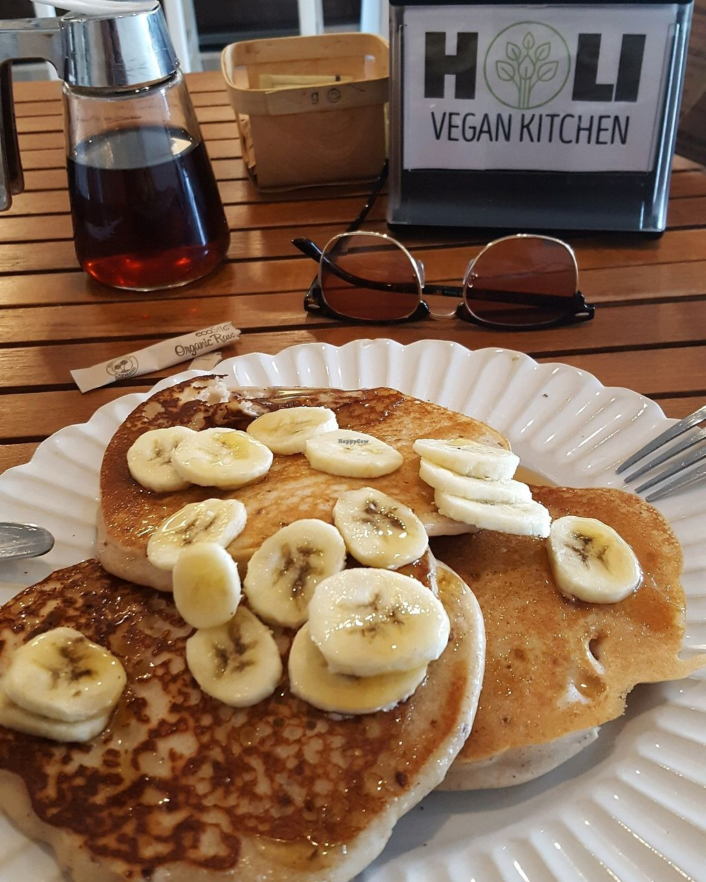 Photo of Holi Vegan Kitchen & Bar  by cottes <br/>Vegan Pancakes <br/> August 23, 2017  - <a href='/contact/abuse/image/76286/296506'>Report</a>