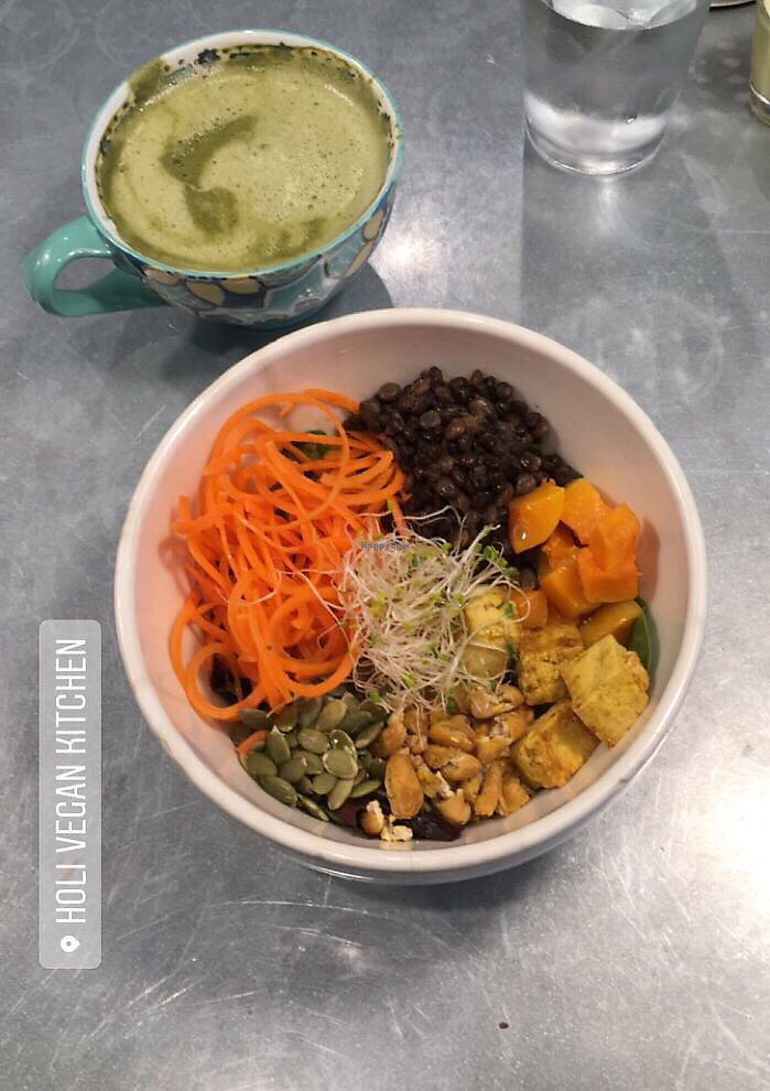 "Photo of Holi Vegan Kitchen & Bar  by <a href=""/members/profile/MarthaL"">MarthaL</a> <br/>Holli sunset bowl <br/> December 9, 2017  - <a href='/contact/abuse/image/76286/333898'>Report</a>"