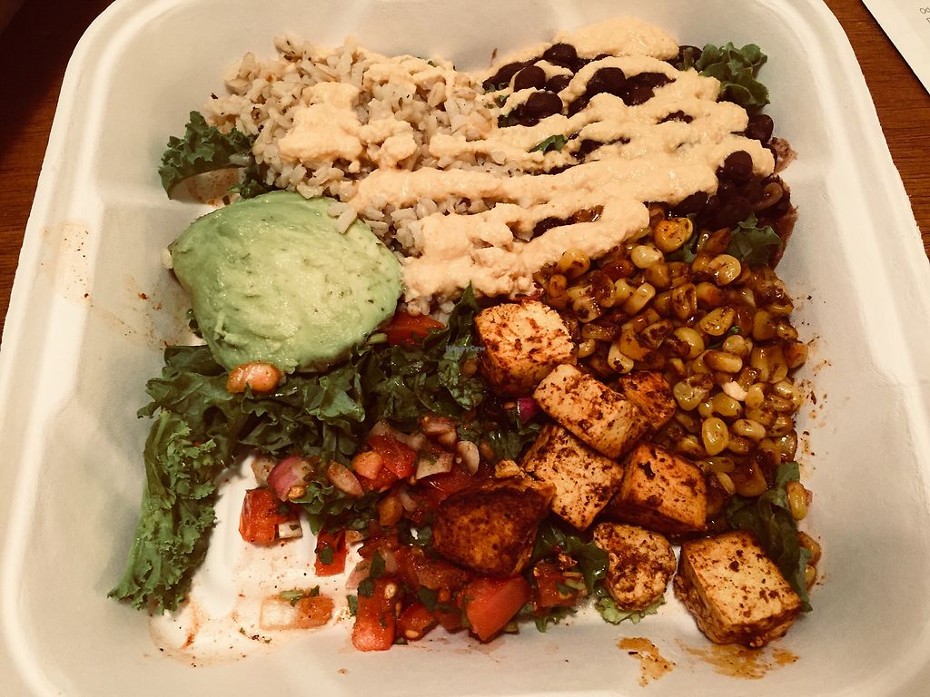 "Photo of Holi Vegan Kitchen & Bar  by <a href=""/members/profile/plantbaseddfw"">plantbaseddfw</a> <br/>TexMex Bowl <br/> February 3, 2018  - <a href='/contact/abuse/image/76286/354215'>Report</a>"