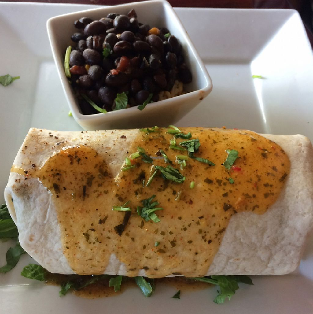 """Photo of Ole Fire Grill   by <a href=""""/members/profile/VeganDarling"""">VeganDarling</a> <br/>garden burrito <br/> March 30, 2017  - <a href='/contact/abuse/image/76294/242718'>Report</a>"""