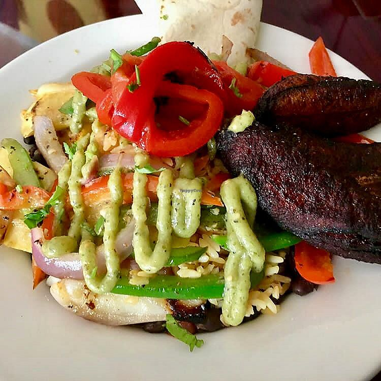 """Photo of Ole Fire Grill   by <a href=""""/members/profile/clovely.vegan"""">clovely.vegan</a> <br/>Vegan Bowl <br/> July 18, 2017  - <a href='/contact/abuse/image/76294/281832'>Report</a>"""