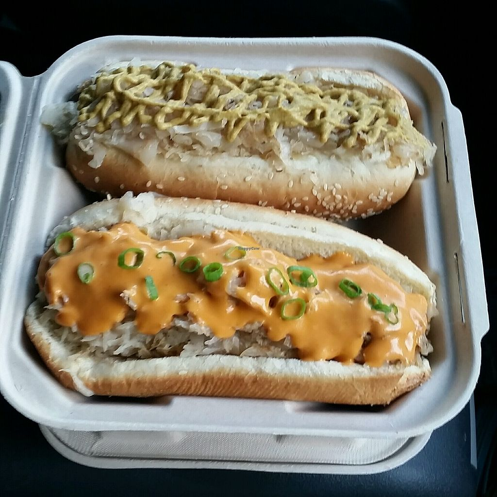 "Photo of Doggie Style - Food Trailer  by <a href=""/members/profile/MelissaLarson"">MelissaLarson</a> <br/>Jon Stewart.  One with cheese.  <br/> November 5, 2017  - <a href='/contact/abuse/image/76299/321889'>Report</a>"