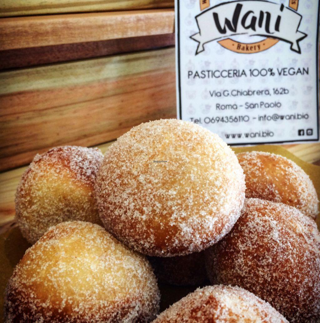"Photo of Wani Vegan Bakery  by <a href=""/members/profile/ChiaraSaitta"">ChiaraSaitta</a> <br/>bombe ripiene  <br/> July 10, 2016  - <a href='/contact/abuse/image/76303/158956'>Report</a>"