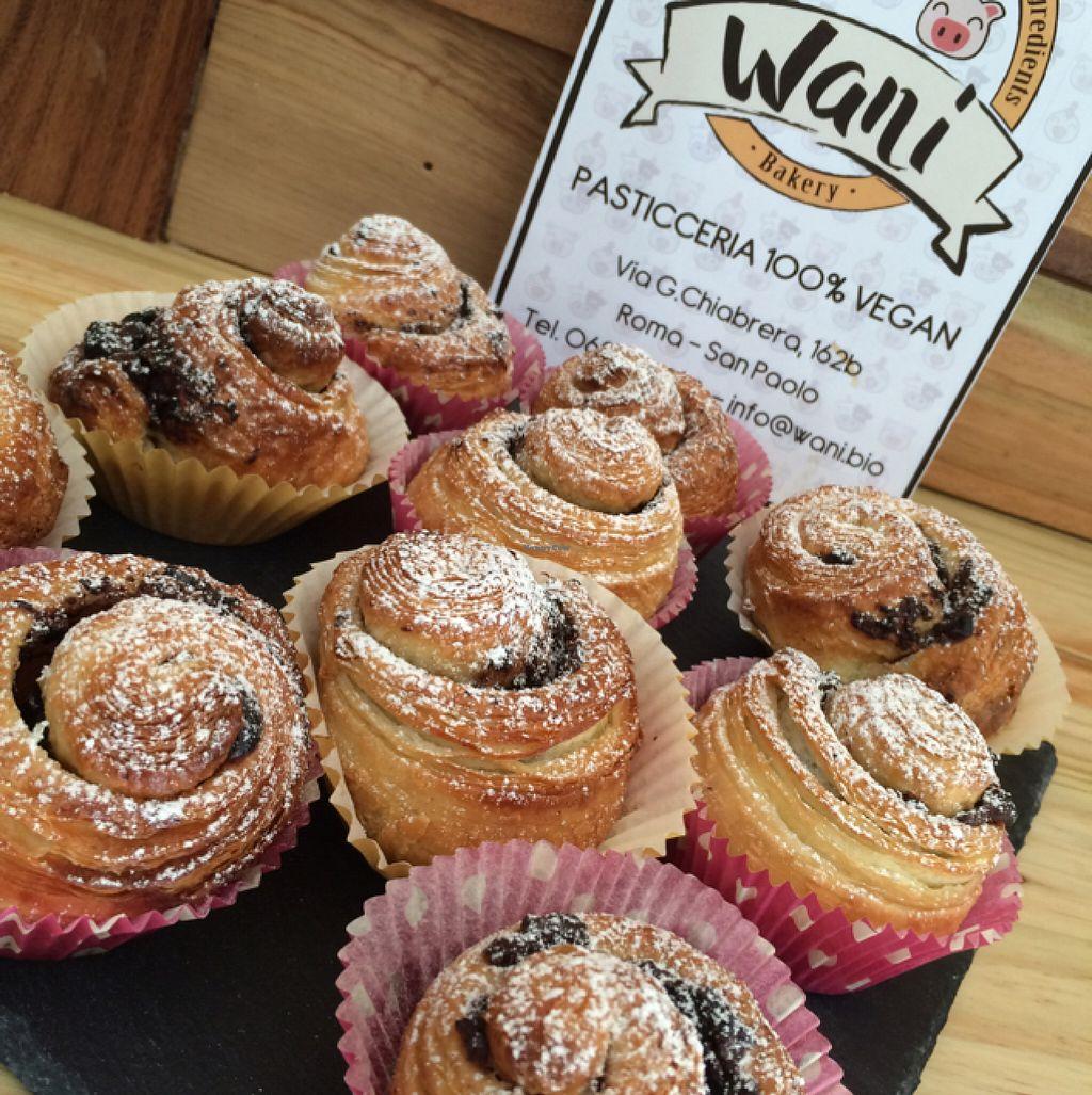 """Photo of Wani Vegan Bakery  by <a href=""""/members/profile/ChiaraSaitta"""">ChiaraSaitta</a> <br/>girelle di pasta brioche  <br/> July 10, 2016  - <a href='/contact/abuse/image/76303/158957'>Report</a>"""