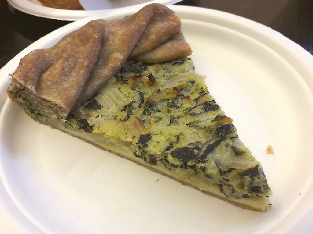 """Photo of Wani Vegan Bakery  by <a href=""""/members/profile/jennyc32"""">jennyc32</a> <br/>Quiche <br/> March 17, 2018  - <a href='/contact/abuse/image/76303/371925'>Report</a>"""