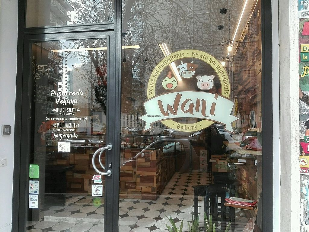 """Photo of Wani Vegan Bakery  by <a href=""""/members/profile/MartinaA."""">MartinaA.</a> <br/>Eingang <br/> March 17, 2018  - <a href='/contact/abuse/image/76303/372032'>Report</a>"""