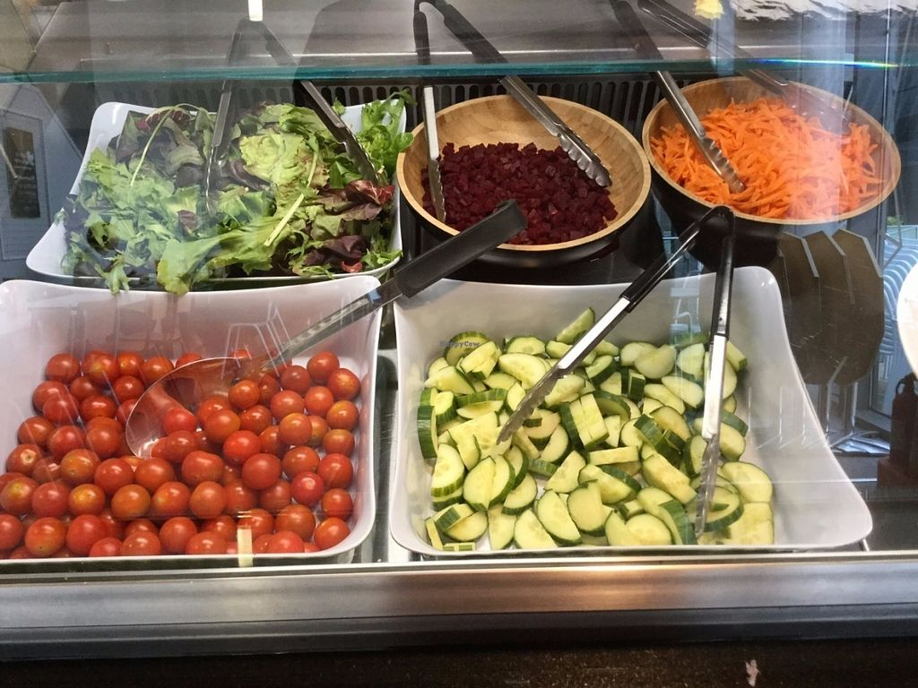 """Photo of Greenhouse Cafe  by <a href=""""/members/profile/astronemma"""">astronemma</a> <br/>Salad bar <br/> July 11, 2016  - <a href='/contact/abuse/image/76327/159141'>Report</a>"""