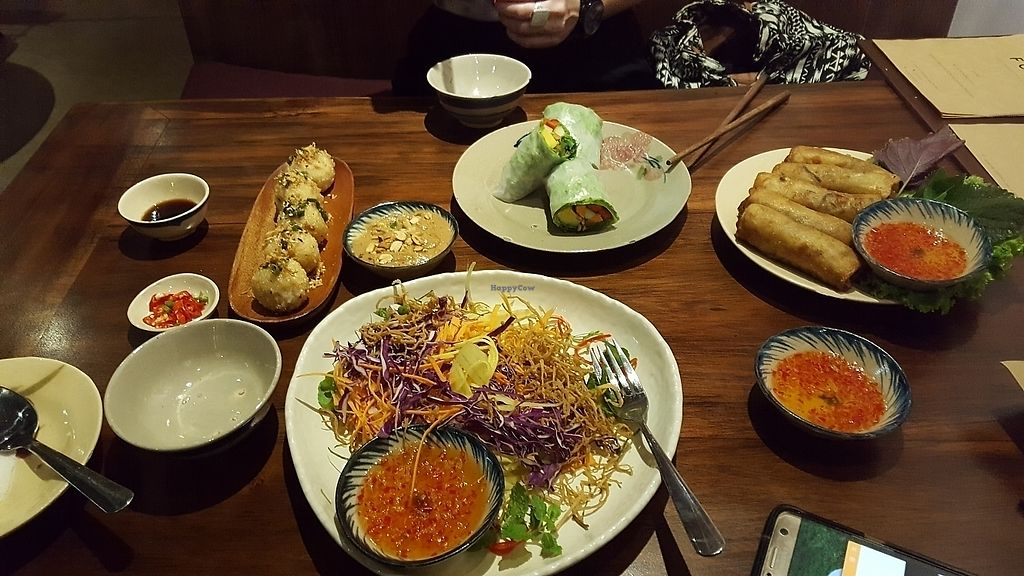 """Photo of Pi Vegetarian Bistro  by <a href=""""/members/profile/Christoveg"""">Christoveg</a> <br/>knockout dinner.   <br/> November 20, 2017  - <a href='/contact/abuse/image/76356/327459'>Report</a>"""