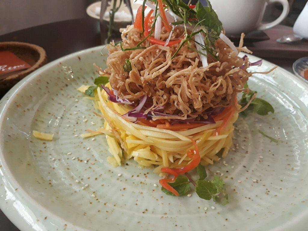 """Photo of Pi Vegetarian Bistro  by <a href=""""/members/profile/LilacHippy"""">LilacHippy</a> <br/>Mango Salad <br/> December 30, 2017  - <a href='/contact/abuse/image/76356/340850'>Report</a>"""