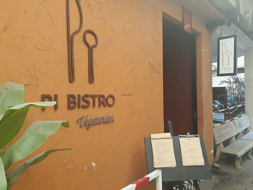 """Photo of Pi Vegetarian Bistro  by <a href=""""/members/profile/LilacHippy"""">LilacHippy</a> <br/>Entrance  <br/> December 30, 2017  - <a href='/contact/abuse/image/76356/340852'>Report</a>"""