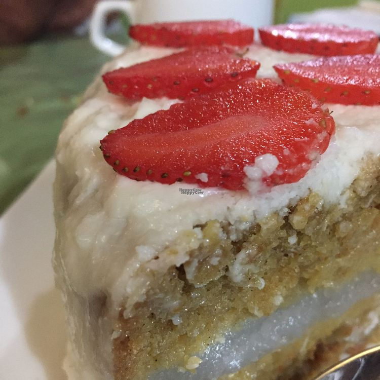"""Photo of CLOSED: Daniela - Creative Vegan Cuisine  by <a href=""""/members/profile/Capedamon"""">Capedamon</a> <br/>lemon and ginger cake with coconut icing  <br/> October 6, 2016  - <a href='/contact/abuse/image/76361/180113'>Report</a>"""