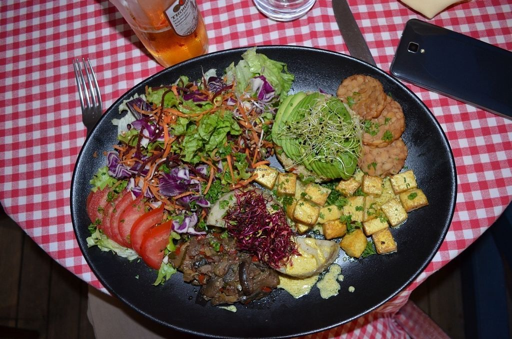 "Photo of La Salamandre  by <a href=""/members/profile/PeterNeugierig"">PeterNeugierig</a> <br/>Was very good, a plate for 2 with french fries and a beer is enough ;)