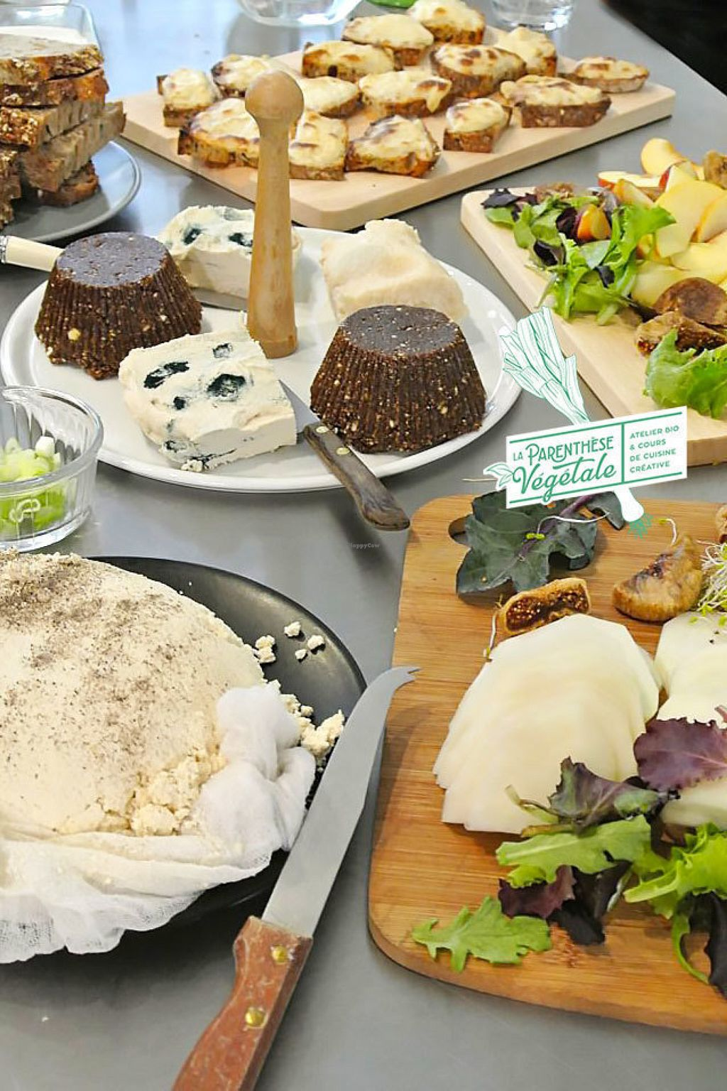 "Photo of La Parenthese Vegetale  by <a href=""/members/profile/MellePigut"">MellePigut</a> <br/>Delicious vegan homemade cheese <br/> July 11, 2016  - <a href='/contact/abuse/image/76373/159149'>Report</a>"