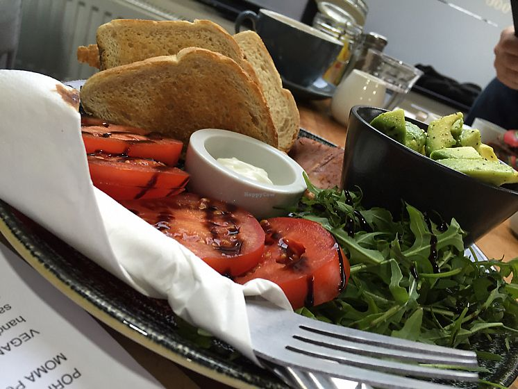 """Photo of The Flame Tree Cafe  by <a href=""""/members/profile/DonnaC"""">DonnaC</a> <br/>smashed avocado <br/> December 10, 2017  - <a href='/contact/abuse/image/76399/334220'>Report</a>"""