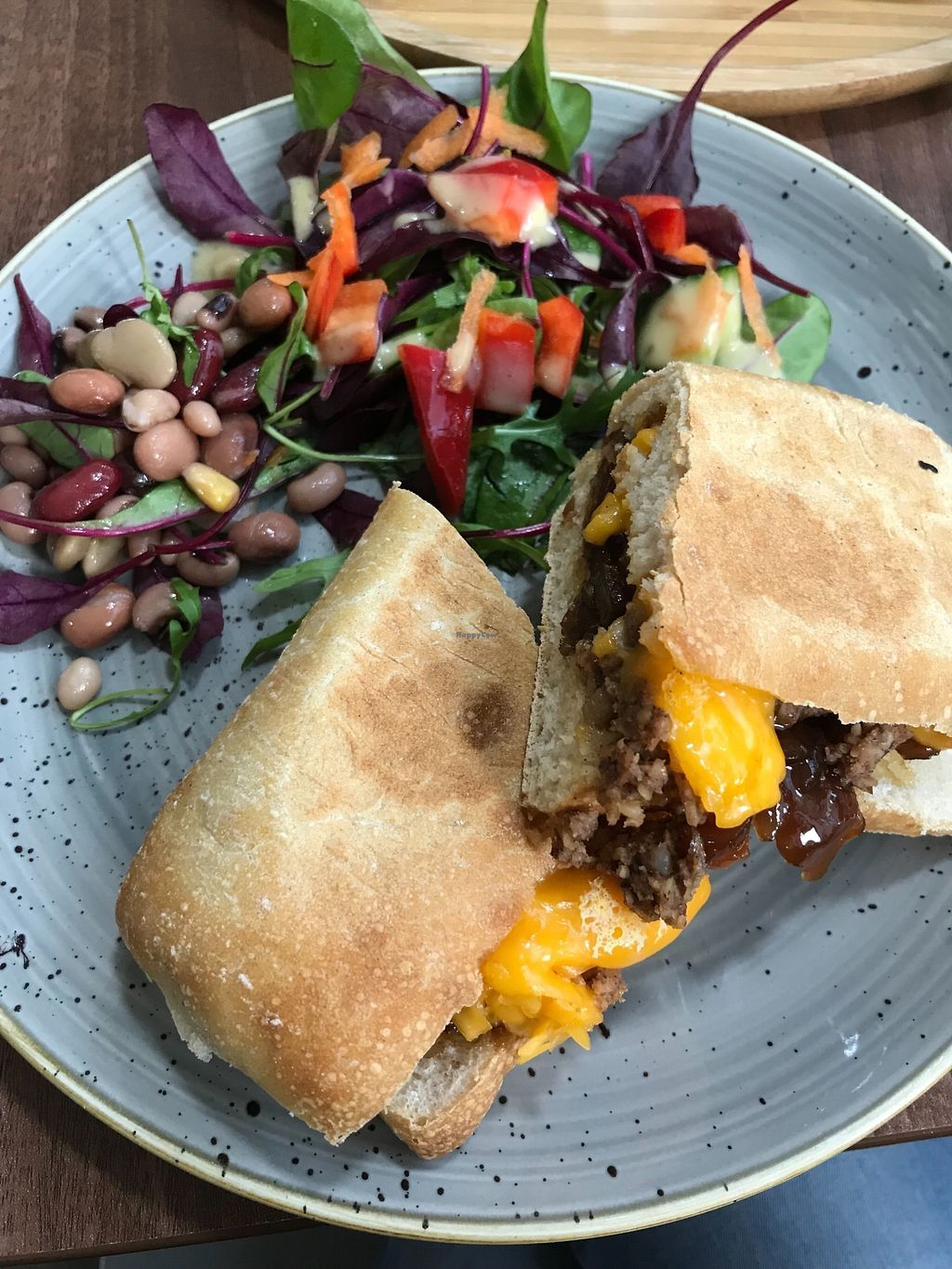 """Photo of The Flame Tree Cafe  by <a href=""""/members/profile/AshleighC"""">AshleighC</a> <br/>Vegan Haggis and Violife Panini - one of my favourites! <br/> February 19, 2018  - <a href='/contact/abuse/image/76399/361398'>Report</a>"""
