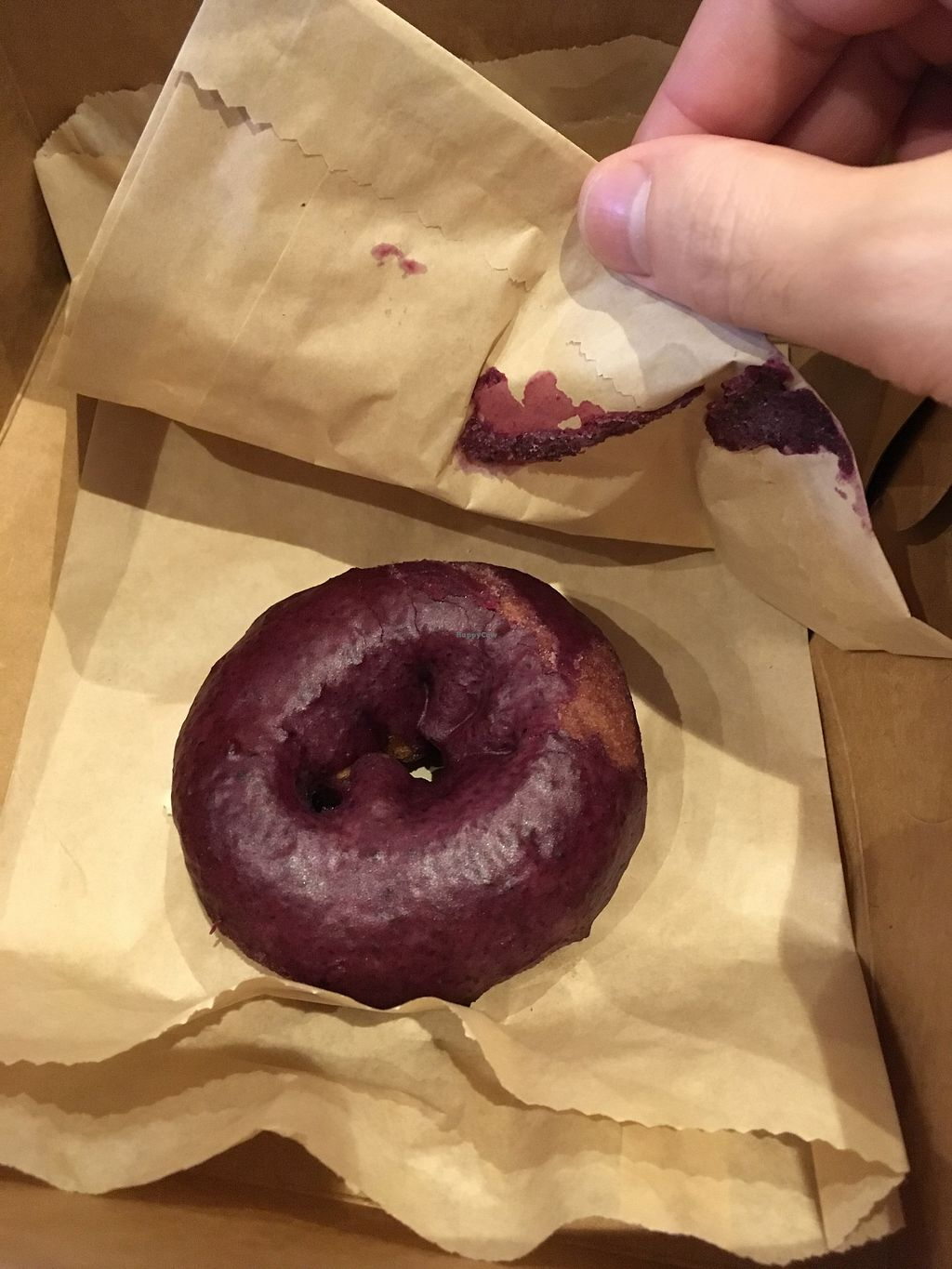 """Photo of Blue Star Donuts  - Hawthorne   by <a href=""""/members/profile/slo0go"""">slo0go</a> <br/>Blueberry cake <br/> March 23, 2018  - <a href='/contact/abuse/image/76402/374623'>Report</a>"""