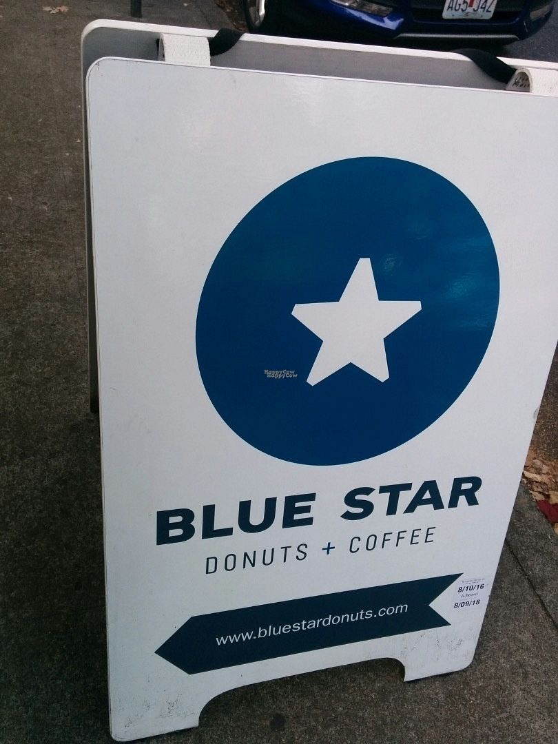 "Photo of Blue Star Donuts - 23rd  by <a href=""/members/profile/MizzB"">MizzB</a> <br/>Blue Star donuts, easy to spot from the street <br/> October 1, 2016  - <a href='/contact/abuse/image/76404/178982'>Report</a>"