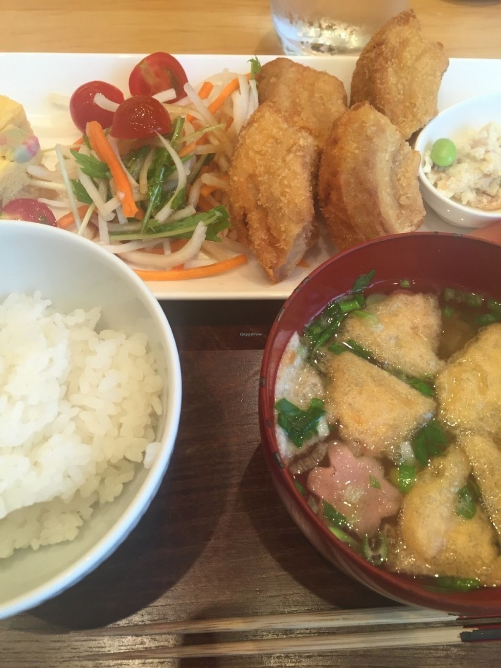 """Photo of Fumuroya Cafe   by <a href=""""/members/profile/Vegeiko"""">Vegeiko</a> <br/>Cutlet lunch set <br/> July 11, 2016  - <a href='/contact/abuse/image/76418/159120'>Report</a>"""