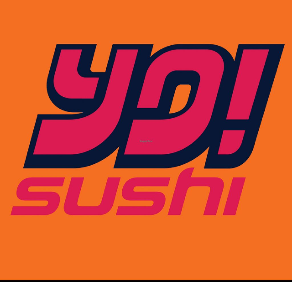 """Photo of Yo Sushi  by <a href=""""/members/profile/VeggieFromSpace"""">VeggieFromSpace</a> <br/>logo <br/> July 11, 2016  - <a href='/contact/abuse/image/76422/159127'>Report</a>"""