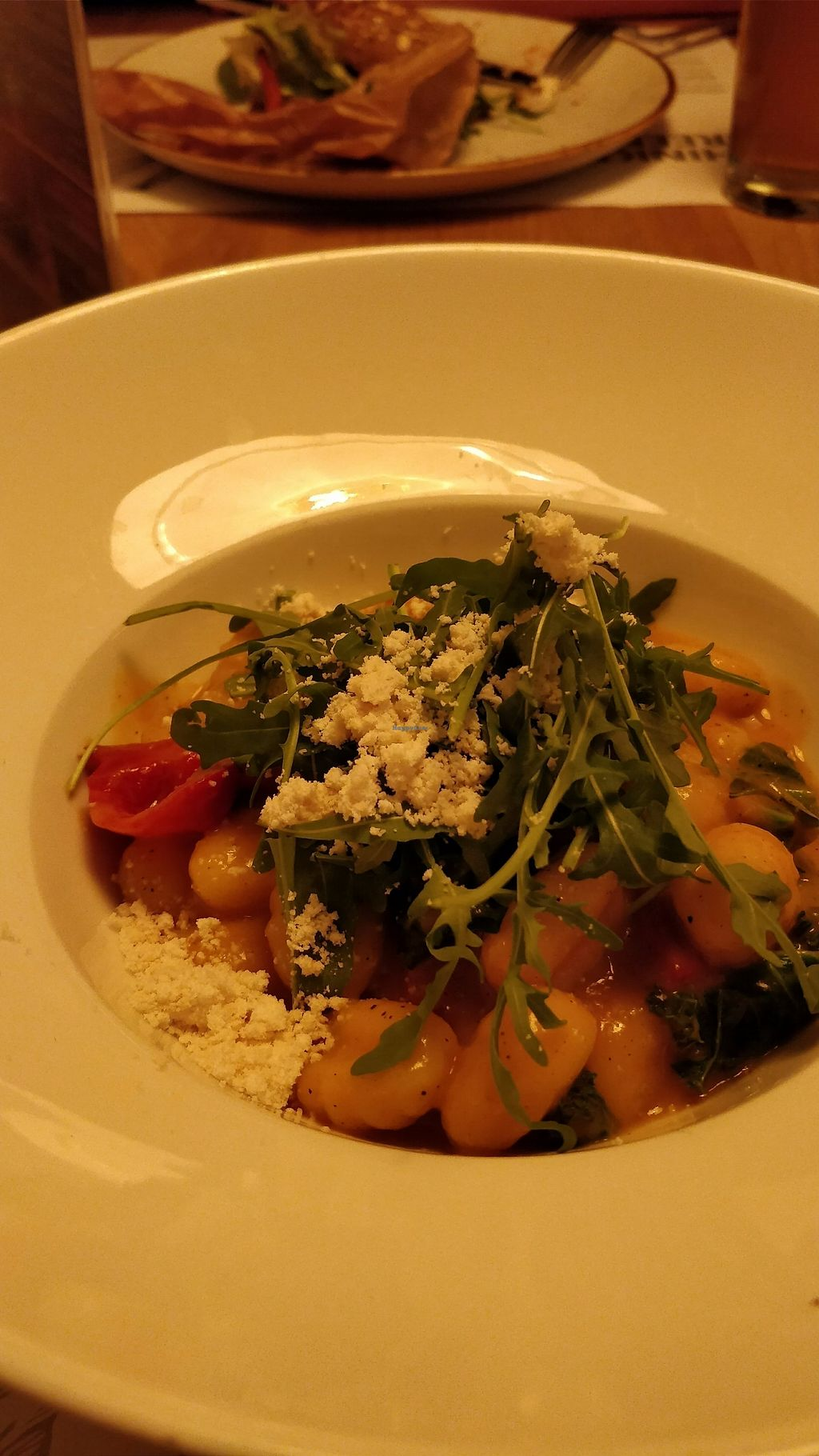 """Photo of Veganic  by <a href=""""/members/profile/ashyda"""">ashyda</a> <br/>Gnocchi in a cheesy sauce <br/> December 6, 2017  - <a href='/contact/abuse/image/76428/332929'>Report</a>"""