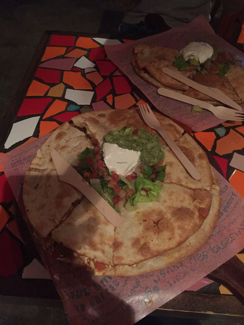 "Photo of Cali-Mex - Wellington St  by <a href=""/members/profile/veggiefoodie"">veggiefoodie</a> <br/>Vegan Quesadilla <br/> January 4, 2018  - <a href='/contact/abuse/image/76431/342864'>Report</a>"