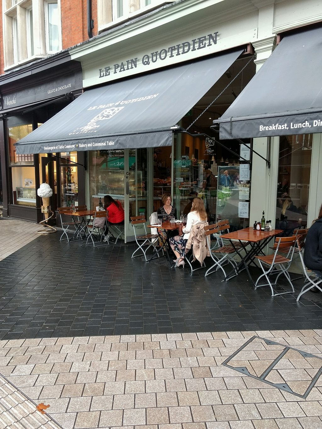 "Photo of Le Pain Quotidien - Exhibition Rd  by <a href=""/members/profile/craigmc"">craigmc</a> <br/>sit in the rain <br/> October 18, 2017  - <a href='/contact/abuse/image/76435/316333'>Report</a>"