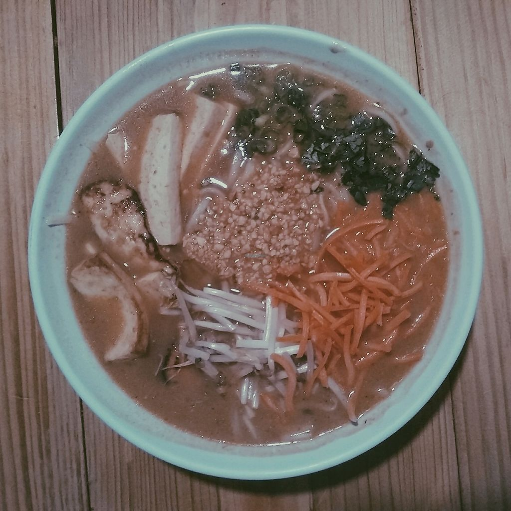 """Photo of Noodle Nirvana  by <a href=""""/members/profile/KaterinaFox"""">KaterinaFox</a> <br/>Vegan Tofu Curry with Rice Noodles <br/> January 7, 2018  - <a href='/contact/abuse/image/76449/344055'>Report</a>"""