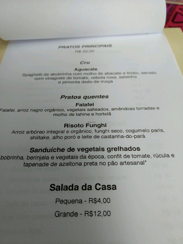 """Photo of Casa Raw  by <a href=""""/members/profile/JulianaFucci"""">JulianaFucci</a> <br/>menu <br/> February 27, 2018  - <a href='/contact/abuse/image/76459/364666'>Report</a>"""