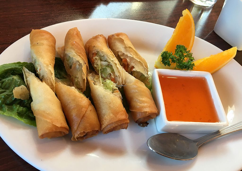 "Photo of Siam Orchid Thai Cuisine  by <a href=""/members/profile/Clean%26Green"">Clean&Green</a> <br/>Crispy rolls  <br/> April 19, 2018  - <a href='/contact/abuse/image/76464/387936'>Report</a>"
