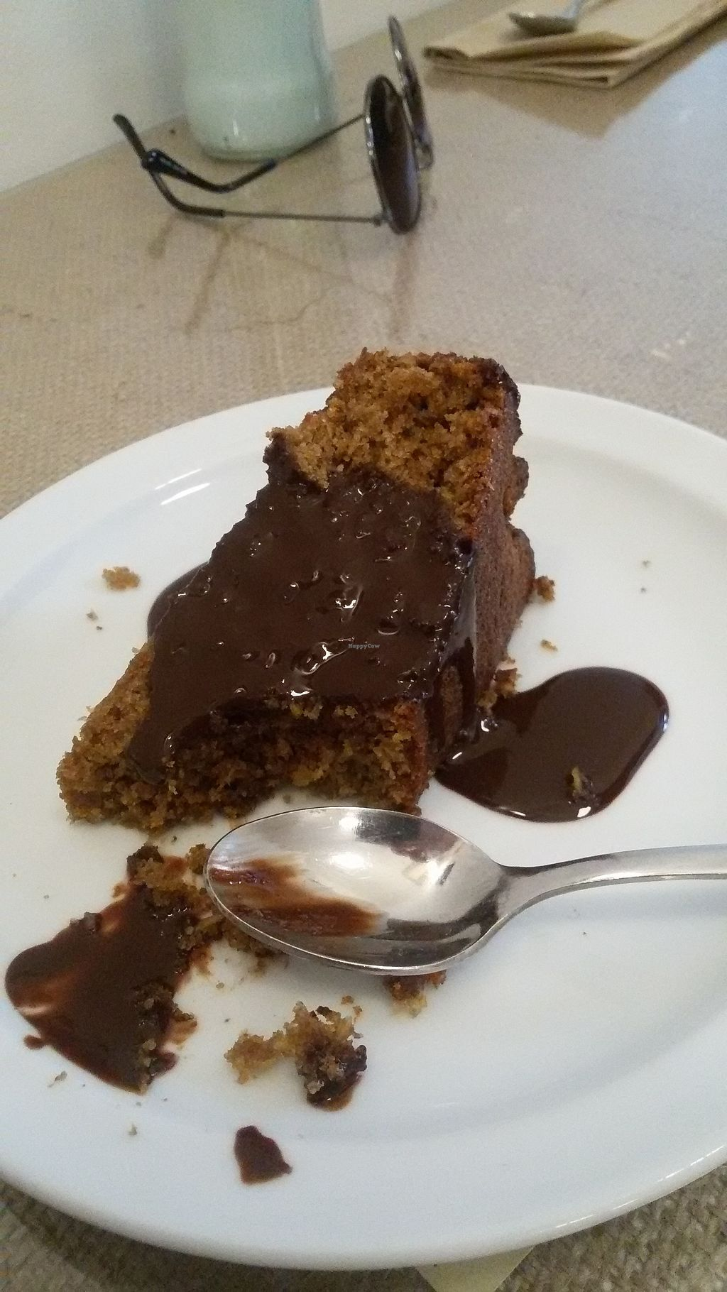 """Photo of El Fogon Verde  by <a href=""""/members/profile/Palmapiteira"""">Palmapiteira</a> <br/>Vegan coconut and chocolate Cake.  <br/> September 14, 2017  - <a href='/contact/abuse/image/76468/304508'>Report</a>"""