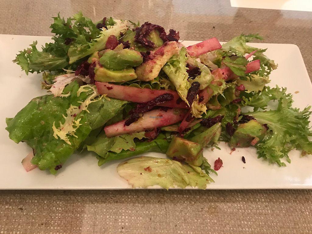 "Photo of El Fogon Verde  by <a href=""/members/profile/Jasonleg"">Jasonleg</a> <br/>Avocado and beetroot salad <br/> November 14, 2017  - <a href='/contact/abuse/image/76468/325792'>Report</a>"
