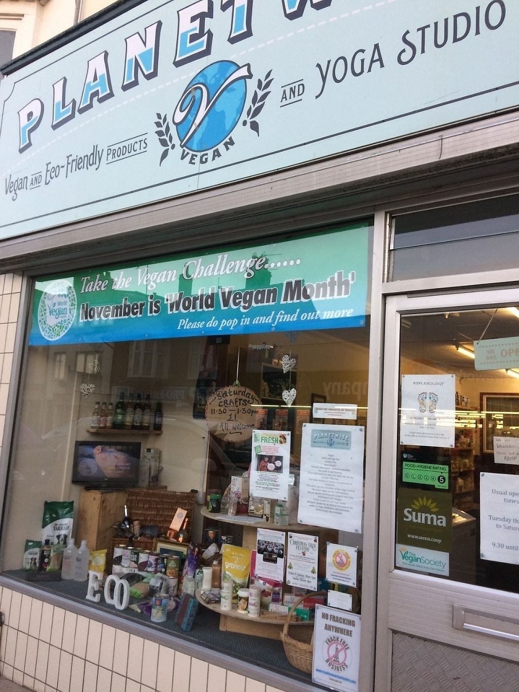 """Photo of Planetwise & Yoga Studio  by <a href=""""/members/profile/MaryElliott"""">MaryElliott</a> <br/>We are in the centre of Bridlington opposite Yorkshire trading and around the corner from whites bakehouse <br/> February 3, 2017  - <a href='/contact/abuse/image/76478/221563'>Report</a>"""
