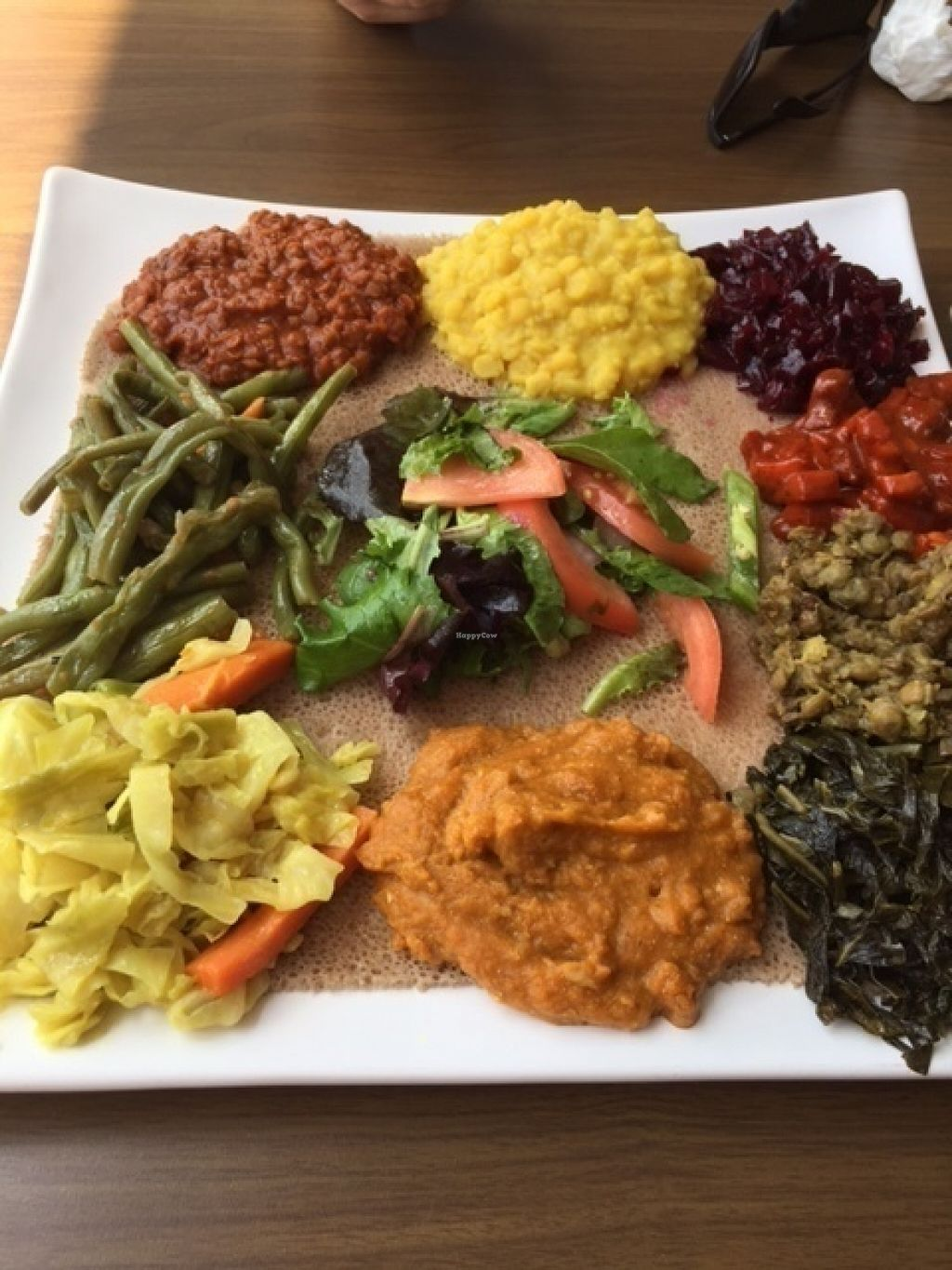 """Photo of Ababa  by <a href=""""/members/profile/kcontini"""">kcontini</a> <br/>Veggie Combo.  Yum! <br/> July 13, 2016  - <a href='/contact/abuse/image/76481/159575'>Report</a>"""