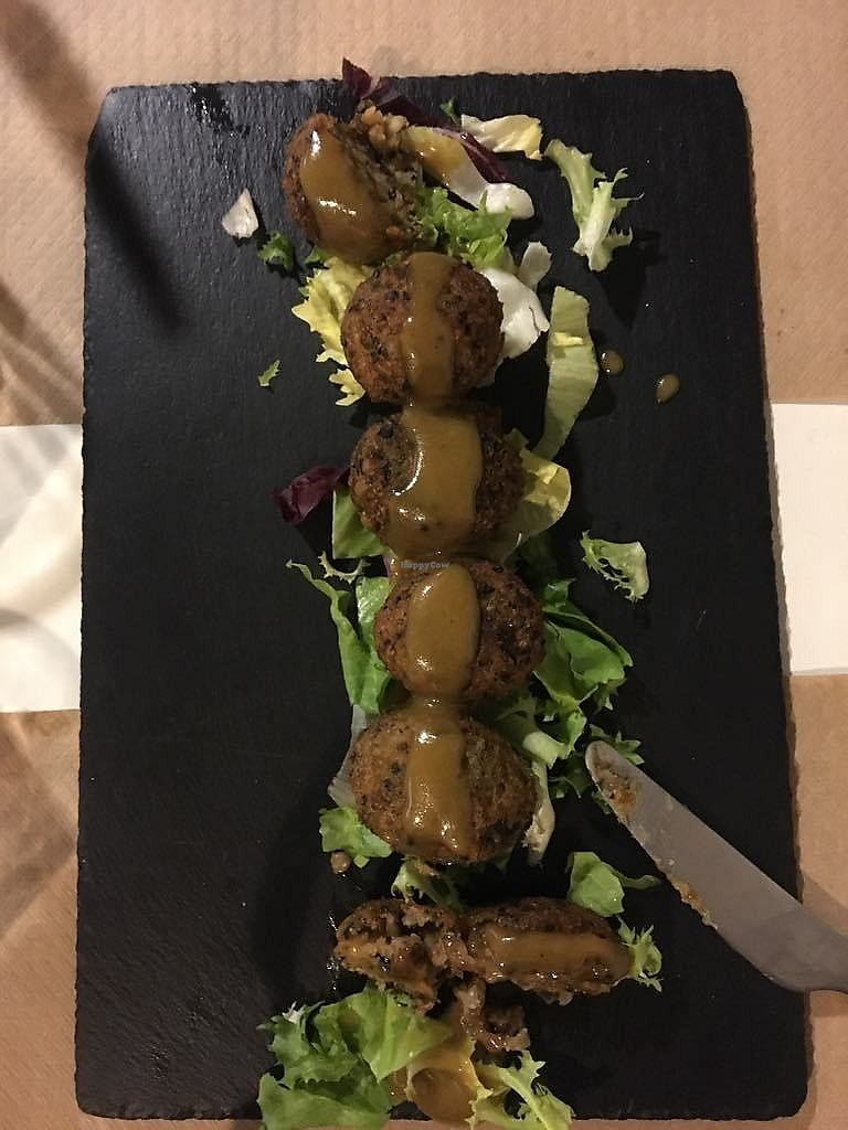 """Photo of Cookaluzka  by <a href=""""/members/profile/sian_ractliffe"""">sian_ractliffe</a> <br/>Amazing croquettes/croquetas with honey mustard sauce <br/> March 15, 2018  - <a href='/contact/abuse/image/76497/371061'>Report</a>"""