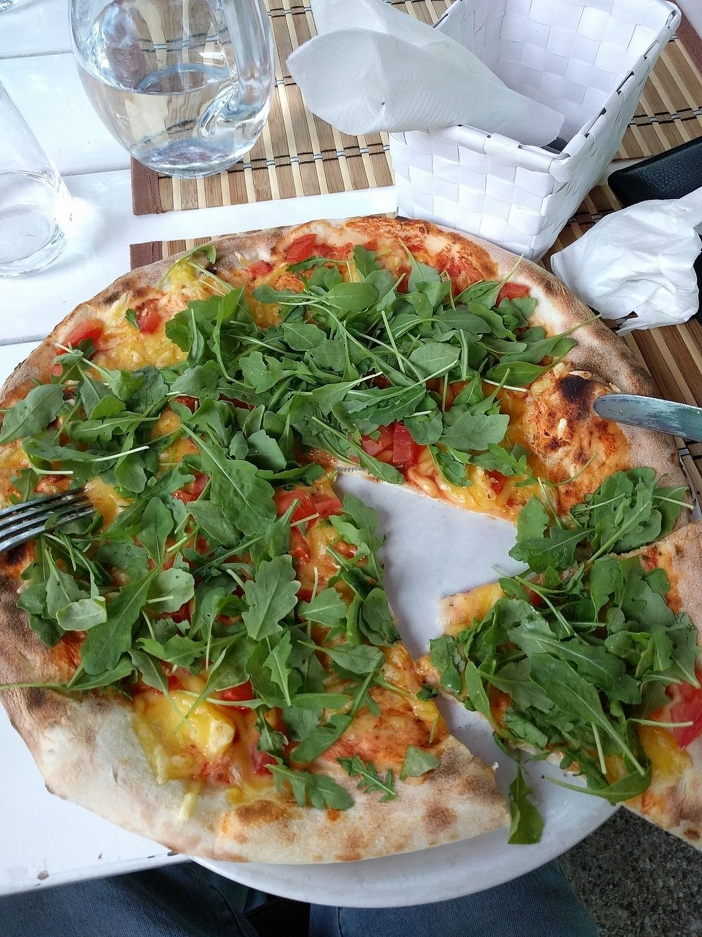 """Photo of Pizzerija Romano  by <a href=""""/members/profile/Squigly"""">Squigly</a> <br/>Veggie aurogola pizza <br/> July 10, 2017  - <a href='/contact/abuse/image/76507/278808'>Report</a>"""