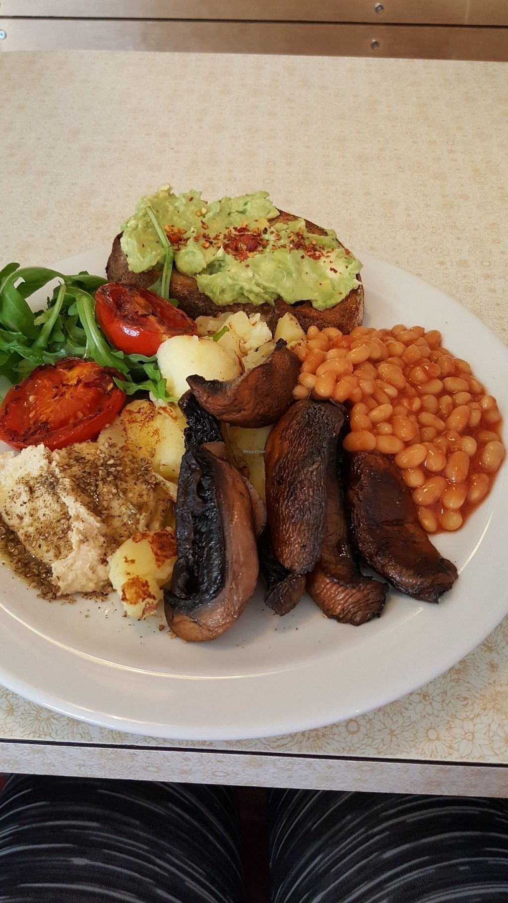 """Photo of Cafe Boscanova  by <a href=""""/members/profile/Clare"""">Clare</a> <br/>Vegan breakfast <br/> July 18, 2016  - <a href='/contact/abuse/image/76521/160778'>Report</a>"""