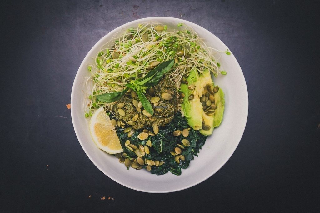 "Photo of Nourish Wellness Cafe  by <a href=""/members/profile/nourishjuice"">nourishjuice</a> <br/>Greeny Bowl: Brown Rice, Massaged Kale, Avocado, Sprouts, Pesto, and Pumpkin Seeds <br/> September 21, 2016  - <a href='/contact/abuse/image/76524/177198'>Report</a>"