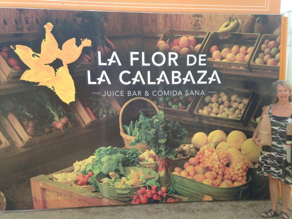 "Photo of La Flor de la Calabaza  by <a href=""/members/profile/debbykasson"">debbykasson</a> <br/>street sign <br/> July 27, 2016  - <a href='/contact/abuse/image/76566/162674'>Report</a>"