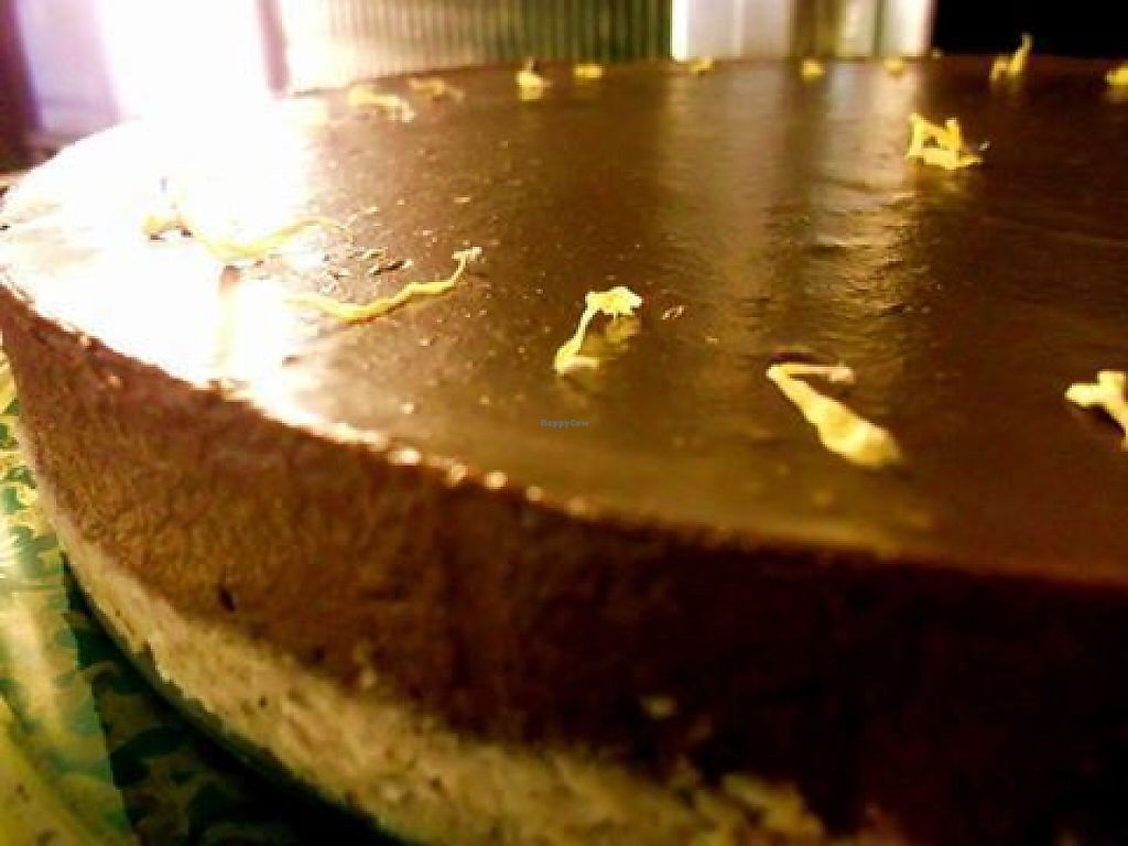 """Photo of Creperie Le Schnurrbart  by <a href=""""/members/profile/community5"""">community5</a> <br/>Chocolate Banana Tarte - vegan and gluten-free <br/> May 29, 2017  - <a href='/contact/abuse/image/76578/263844'>Report</a>"""