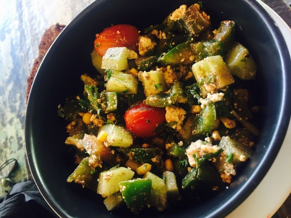 """Photo of Bali Eco Deli  by <a href=""""/members/profile/rodgo"""">rodgo</a> <br/>This plate isn't vegan cause contain feta cheese  <br/> July 15, 2016  - <a href='/contact/abuse/image/76611/160143'>Report</a>"""