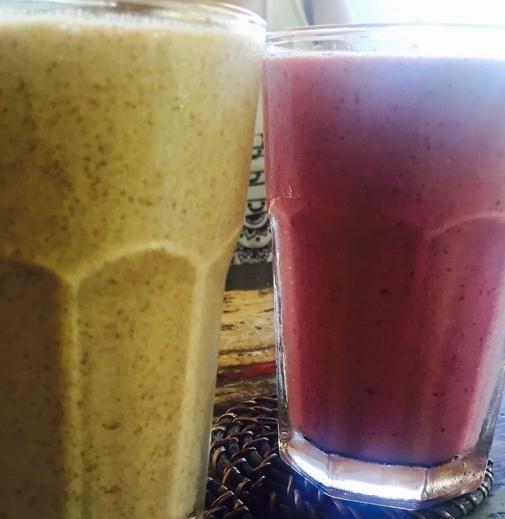 """Photo of Bali Eco Deli  by <a href=""""/members/profile/rodgo"""">rodgo</a> <br/>Their awesome vegan smoothies made by soya milk  <br/> July 15, 2016  - <a href='/contact/abuse/image/76611/267489'>Report</a>"""