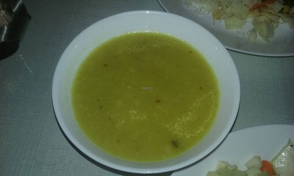 """Photo of Aroma Indian Restaurant  by <a href=""""/members/profile/laty"""">laty</a> <br/>Cauliflower soup <br/> December 1, 2017  - <a href='/contact/abuse/image/76625/331158'>Report</a>"""