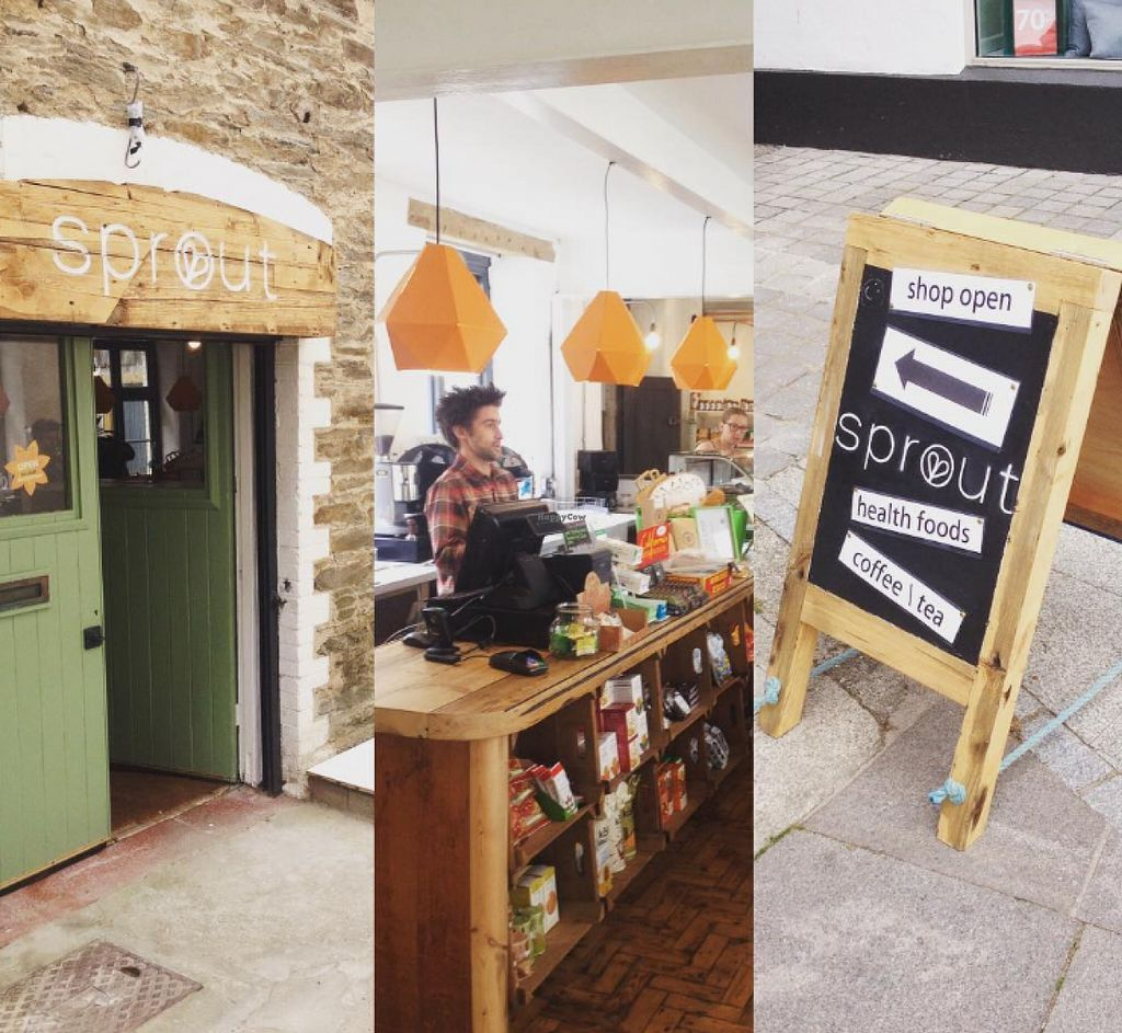 "Photo of Sprout Health Foods  by <a href=""/members/profile/SebastianVenn"">SebastianVenn</a> <br/>Just off Bank Street, tucked around the corner on a inconspicuous lane, you will find a hidden gem and serene space in central Newquay <br/> July 16, 2016  - <a href='/contact/abuse/image/76626/160213'>Report</a>"
