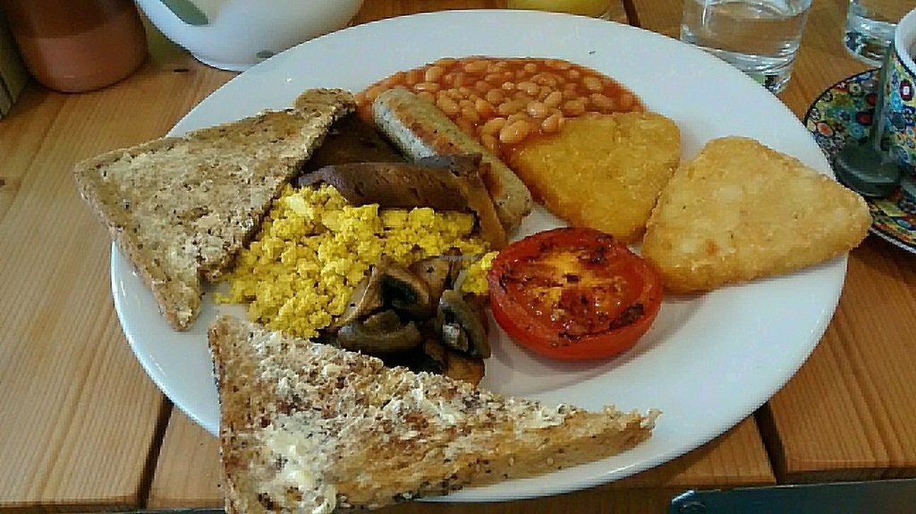 """Photo of Green Kitchen  by <a href=""""/members/profile/caremore"""">caremore</a> <br/>The full English <br/> August 19, 2017  - <a href='/contact/abuse/image/76632/294452'>Report</a>"""