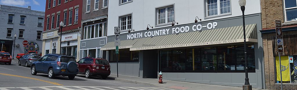 """Photo of North Country Co-op  by <a href=""""/members/profile/ncfoodcoop"""">ncfoodcoop</a> <br/>Newly renovated front of the building! <br/> August 3, 2017  - <a href='/contact/abuse/image/76640/288342'>Report</a>"""