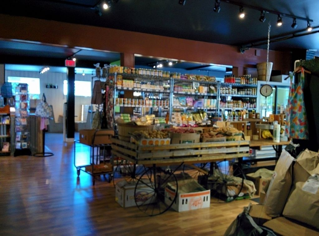 """Photo of Ecossentials  by <a href=""""/members/profile/CLRtraveller"""">CLRtraveller</a> <br/>interior of Ecossentials Local Market <br/> July 16, 2016  - <a href='/contact/abuse/image/76642/160318'>Report</a>"""